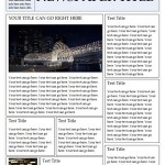 Thumbnail image for Newspaper Template For Word