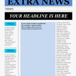 Thumbnail image for Free Word Newspaper Template